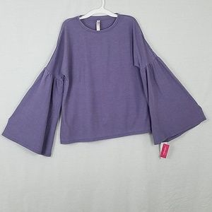 Xhilaration Bell Sleeve Sleep T-Shirt